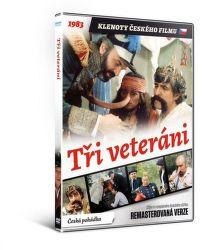 Traja veterání - DVD film