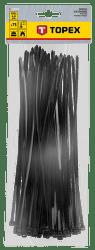 TOPEX 4,8 x 300 mm 75 ks, čierna