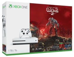 Microsoft Xbox One S 1 TB (biela)+Halo Wars 2 Ultimate Edition