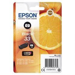 EPSON 33 photo black - atrament