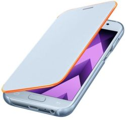 SAMSUNG Flipové puzdro pre Galaxy A5 2017 Neon (modrá)