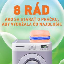 8 rád ako sa starať o práčku