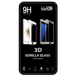 Winner ochranné tvrdené sklo 3D iPhone 7 Plus, čierne