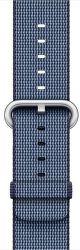 Apple Watch 38mm polnočne modrý nylonový remienok