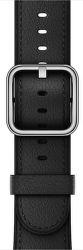 Apple Watch 42mm čierny klasický remienok