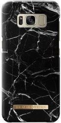 Ideal of Sweden čierne mramorové puzdro na Samsung Galaxy S8