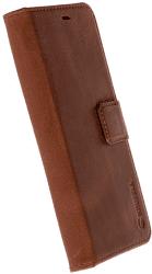 Krusell Galaxy S8 flipové pouzdro hnědé