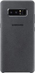 SAMSUNG Alcantara pre Galaxy Note8, sivá