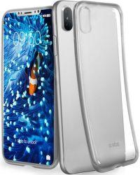 SBS Extra Slim puzdro pre iPhone X a Xs, strieborná