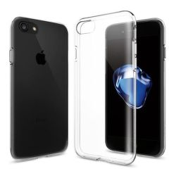 SPIGEN iPhone 7/8 Case Liquid Crystal, transparentné