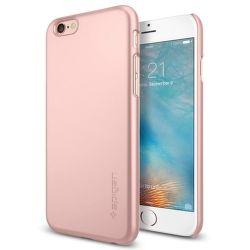 SPIGEN iPhone 6/6S Case Thin Fit, ružovo-zlatá