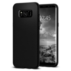 SPIGEN Galaxy S8 Case Liquid Air Armor, čierna