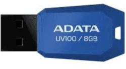 A-DATA UV100 8GB USB 2.0 modrý