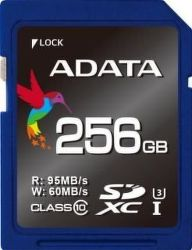 ADATA microSDXC 256 GB 95 MB/S U3 CLASS 10 UHS-I