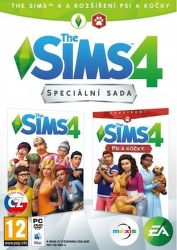 The Sims 4 + The Sims 4 Psy a mačky - PC hra