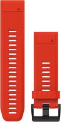 GARMIN QuickFit 26mm silikónový remienok pre Fénix 3/5X, červená