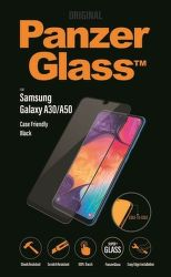 PanzerGlass tvrdené sklo pre Samsung Galaxy A50/A30, čierna