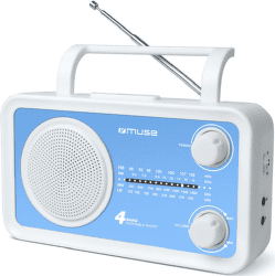 Muse M-05 bielo-modrý