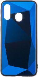Winner Prismatic puzdro pre Samsung Galaxy A40, modrá