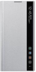 Samsung Clear View puzdro pre Samsung Galaxy Note10+, strieborná