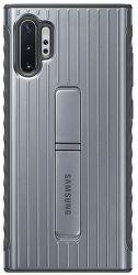 Samsung Protective Standing puzdro pre Samsung Galaxy Note10+, strieborná