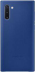 Samsung Leather Cover pre Samsung Galaxy Note10, modrá