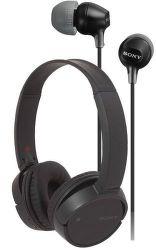 Sony WH-CH500B + MDREX110APB čierne