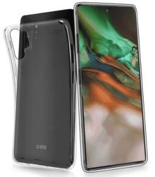 SBS Skinny silikónové puzdro pre Samsung Galaxy Note10+, transparentná