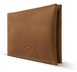 Fixed Smile peňaženka s motion senzorom, hnedá