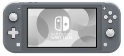 Nintendo Switch Lite sivá