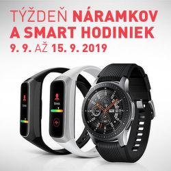 Týždeň smart hodiniek a náramkov