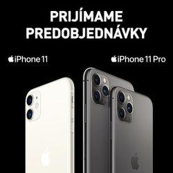 Prijímame predobjednávky na iPhone 11