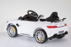SparkTech Mercedes GTR elektrické autíčko biele