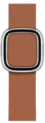 Apple Watch 40 mm kožený remienok s magnetickou prackou malý, sedlovo hnedý