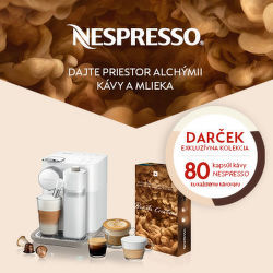 Exkluzívna kolekcia kávy ku kávovarom Nespresso