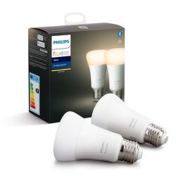 Philips Hue White 9W E27 set 2 ks