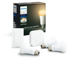 Philips Hue White Ambiance 8.5W E27 Starter kit