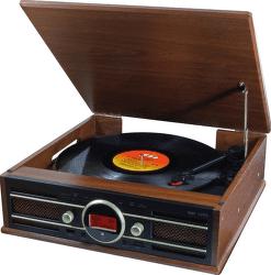 Soundmaster PL858 hnedé
