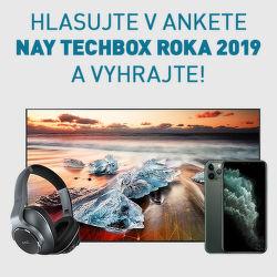 Hlasujte v ankete NAY TECHBOX roka 2019 a vyhrajte