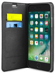 SBS Wallet Lite knižkové puzdro pre Apple iPhone 8/7/6s/6/SE 2020, čierna