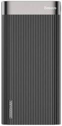 Baseus Parallel powerbanka 20 000 mAh + micro USB kábel, čierna
