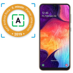 Samsung Galaxy A50 oranžový
