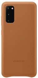 Samsung Leather Cover pre Samsung Galaxy S20, hnedá