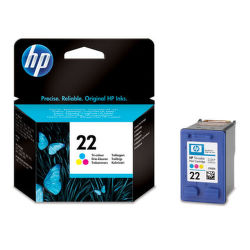 HP C9352AE No.22 color - atrament