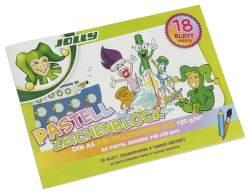 Jolly Superspace skicár A4 18 listov farebný