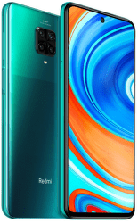 Xiaomi Redmi Note 9 Pro 64 GB zelený