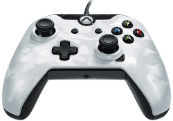 PDP Wired Controller pre Xbox One CAMO biely