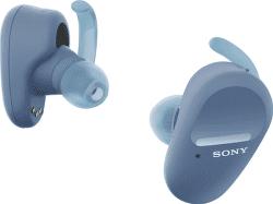 Sony WF-SP800N modré
