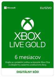 Xbox Live Gold EU 6-mesačné členstvo - Digitálny produkt