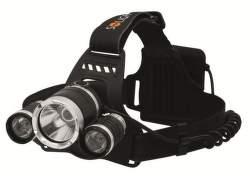 Solight WH23 LED čelové svietidlo SUPER POWER 4 x AA
